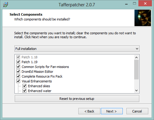 patching Thief 2 with Tafferpatcher